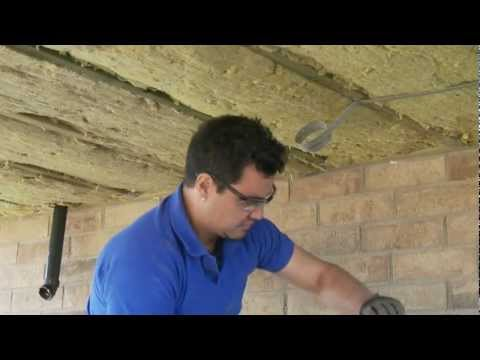 Insulating a Floor Over an Unheated Space