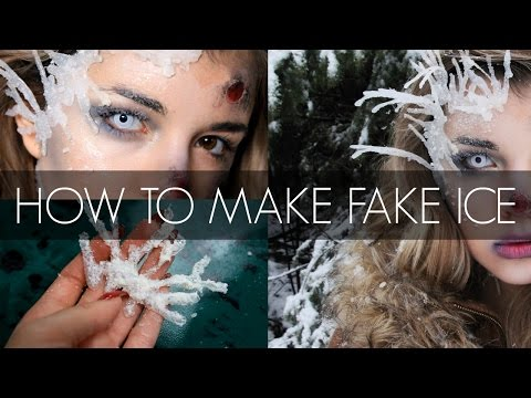 How To Make Fake Ice | Laura Glam'More FX