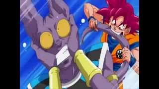 Dragon Ball Super: Goku SSJ GOD VS Beerus [HERO-FLOW]