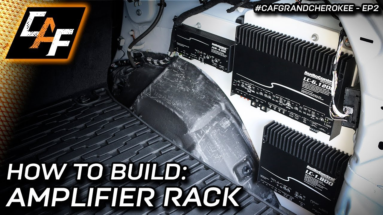 Mount your amplifiers RIGHT! Amp Rack Build