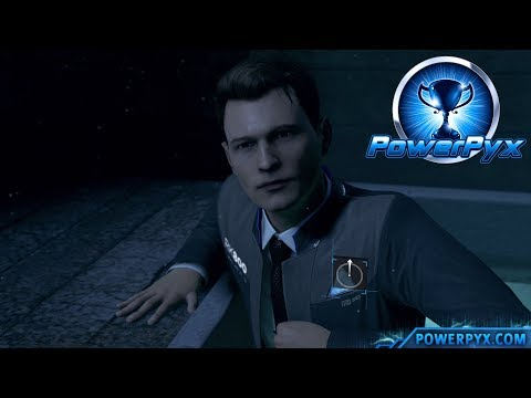 Detroit Become Human - DEVIANT LOCATED Trophy Guide (Connor finds Deviant in Attic)