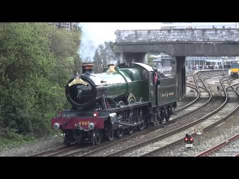 The Cornishman and VSOE Plymouth 270413