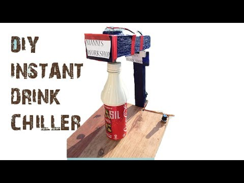 DIY chill any drink in just 60 Seconds
