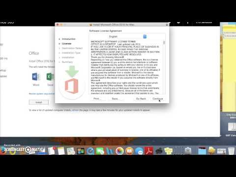 How to Install Office 365 on a Mac