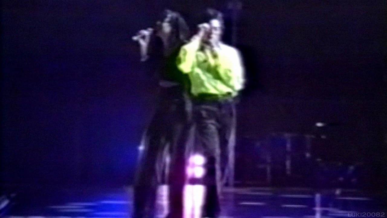 Michael Jackson - I Just Can't Stop Loving You - DWT Rehearsal (Widescreen)