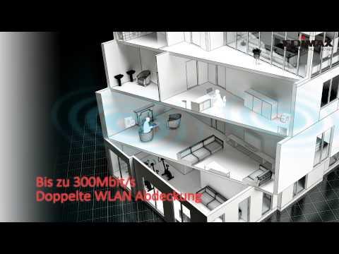 EW- 7438RPn Air N300 WLAN Repeater mit eigener App