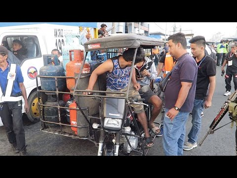 i-ACT Tricycle Operation in Taytay