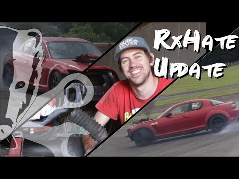Rx-Hate Update, Q&A, 1st Drift Day @ Tynagh