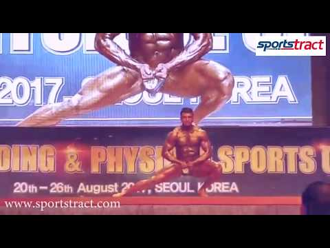 Xxx Mp4 Gopu Srinivas Of India In 51st Asian Bodybuilding Amp Physique Sports Championship 2017 3gp Sex