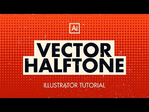 Vector Halftone Tutorial | Adobe Illustrator