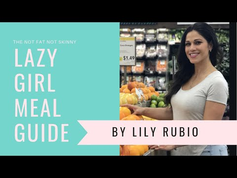 Lazy Girl Meal Guide Intro