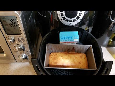 Air Fryer Jiffy Cornbread Aldi Crofton Bake Loaf Pan 2017 Cooks Essentials Airfryer 5.3qt