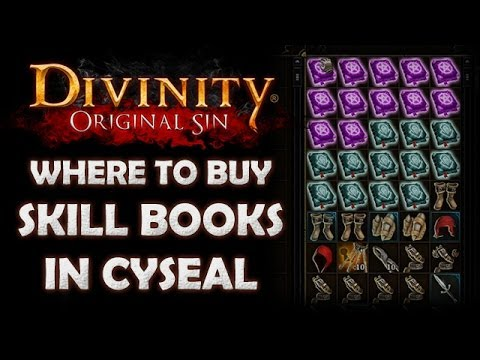 Divinity: Original Sin - Where to Find All the Skill Book Merchants in Cyseal