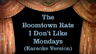 The Boomtown Rats - I Don