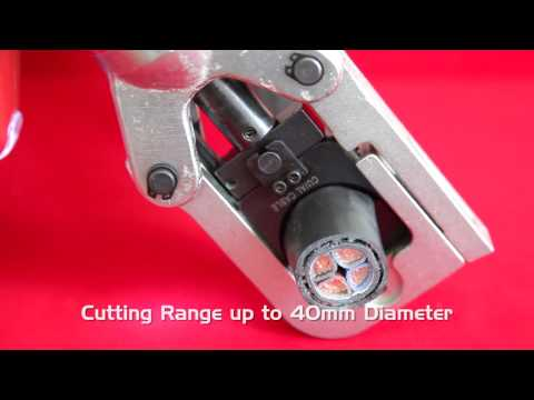 SWA - Battery Operated Crimping & Cutting Tool