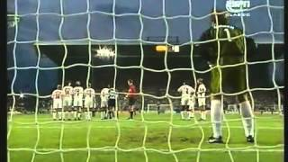 Zanetti Free Kick Argentina v England World Cup 98