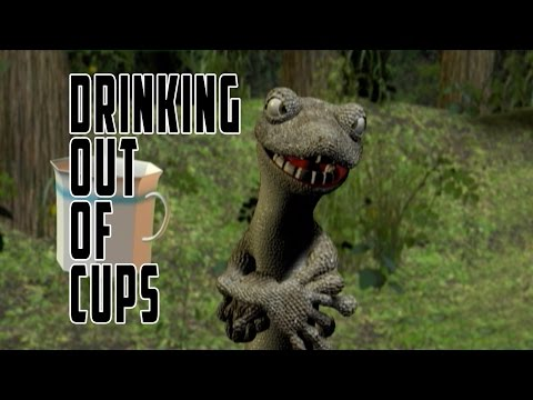 Drinking Out Of Cups (Official) - (Liam Lynch & Dan Deacon)