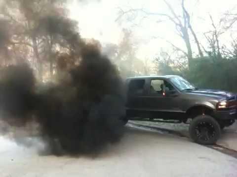 f250 diesel black smoke