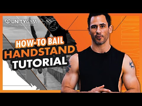 Learn How To Bail Out Of A Handstand