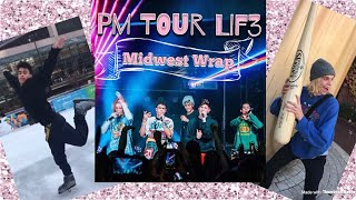 PM TOUR LIF3 Midwest Leg Finished ツ PRETTYMUCH Snapchat Vlogs