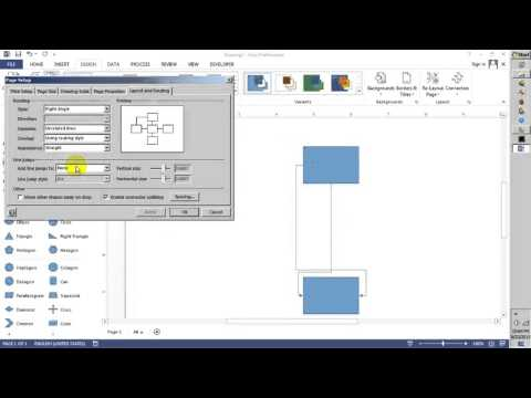 Jump Line in Visio 2013