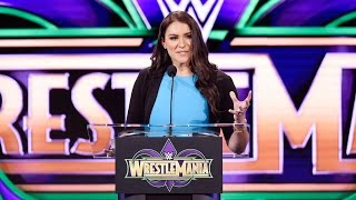 Stephanie McMahon speaks about the unifying power of WrestleMania