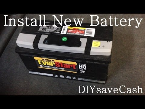 BMW E65 E66 How To Replace Install A New Battery