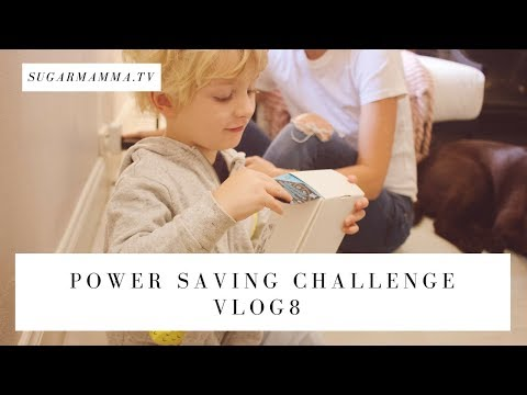 Power Saving VLOG Challenge 8/9 - Help With Power Bills, Empowering Kids & Recycling! || SugarMamma
