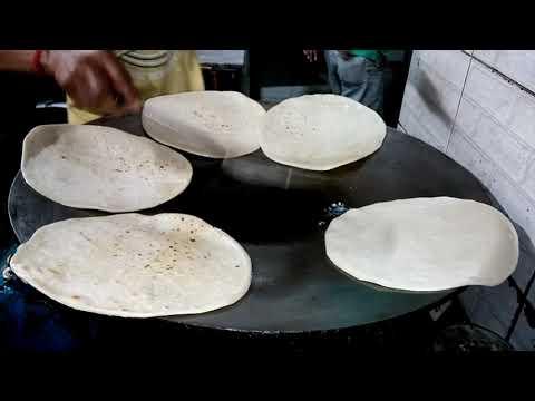 Roadside Chicken Roll Kolkata Style - Indian Street Food