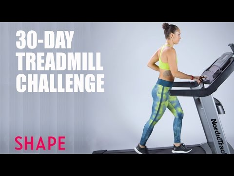 30 Day Treadmill Challenge