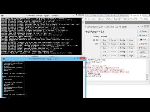 How can I access the MySQL command line with XAMPP for Windows? - SOLVED