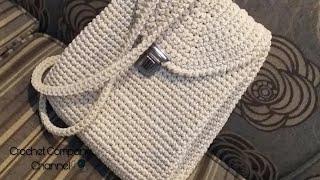 63622f7d112de شنط كروشيه جديدة - crochet bags 2015 - ست ❤ البنات - imclips.net