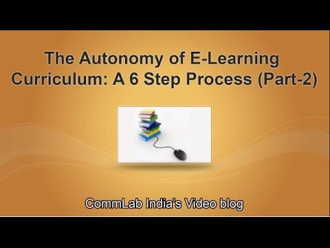 Creating Training Curriculum is Now Simple – A 6 Step Process – Part 2