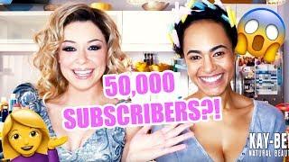 Kay-Bee Natural Beauty Celebrates 50K Subscribers!!!