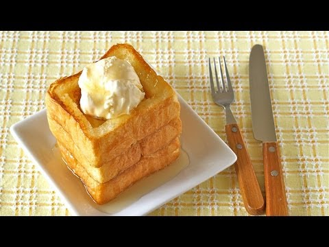 Honey Butter Toast with Vanilla Ice Cream ハニーバタートーストの作り方 - OCHIKERON - CREATE EAT HAPPY