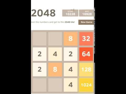 How to get the 2048 tile and more simple guide.
