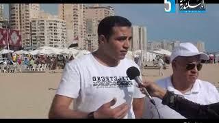تلفزيون الاسكندرية برنامج على الرملة يستضيف  الاستاذ عبد الرحمن محمد  والحاج محمد انور