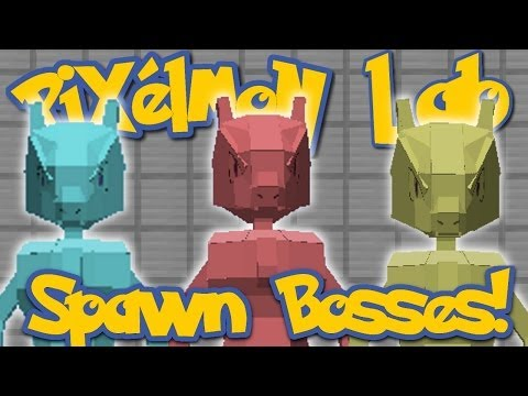 Pixelmon Lab: How To Spawn Boss Pokemon! (Minecraft Pokemon Mod)