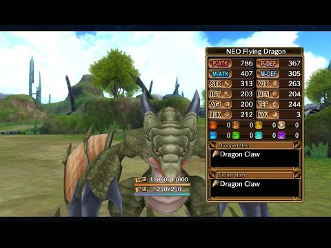 Fairy Fencer F - Look For Lola - 07 - Neo Flying Dragon - Sol Plains Revisited - North