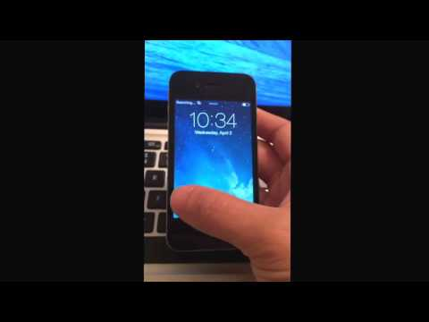 Delete iCloud Account from iPhone without Password iOS 7 1
