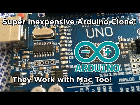 Ben Builds: 5 FOR 1 ARDUINOS! | But do they work with Mac? | CH340 Driver Tutorial