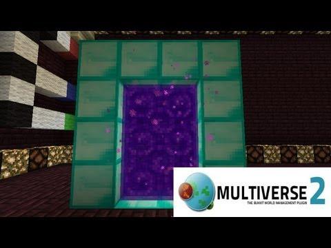 Minecraft Plugins: Multiverse-Portals