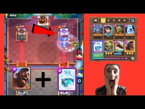 FASTEST META OP COMBO DECK! INSANE HOG RIDER & FREEZE SPELL CYCLE DECK!