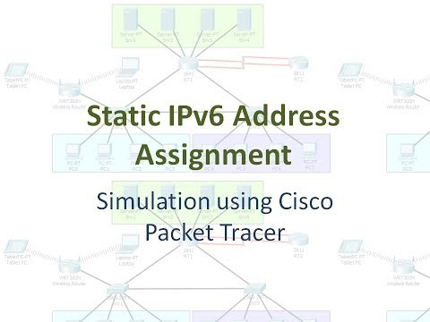 Static IPv6 Address Assignment