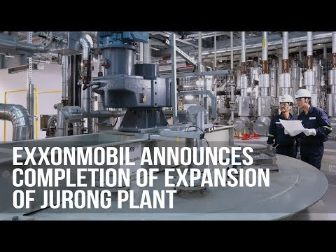 ExxonMobil Completes New Grease and Synthetic Lubricants Facilities in Singapore