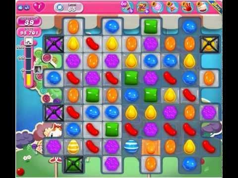 Candy Crush Saga Level 65 ★