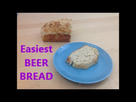 Super easy beer bread. Make beer bread the easy way.