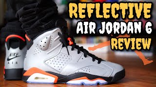 2916b043e9 REFLECTIONS OF A CHAMPION AIR JORDAN 6 ON FEET REVIEW!