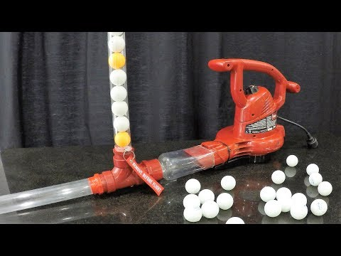 How to Make a $12 Ping Pong Cannon - Easy and Safe
