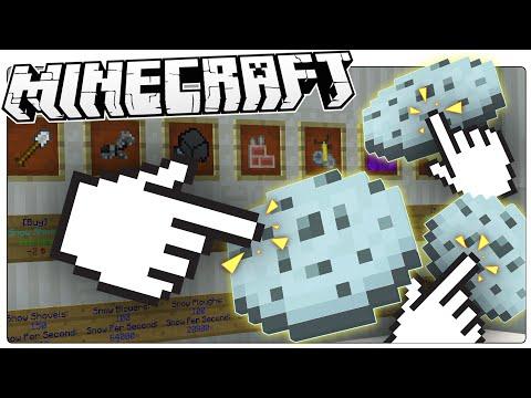 Minecraft | FROZEN COOKIE CLICKER | Custom Map